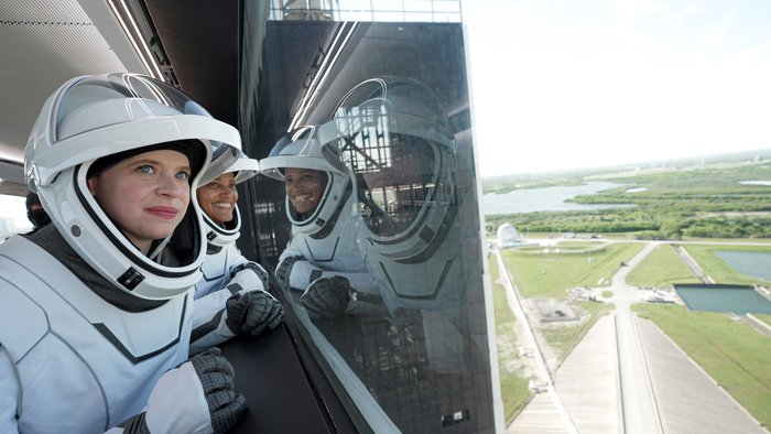 SpaceX lanza al espacio la primera misión con una tripulación totalmente civil