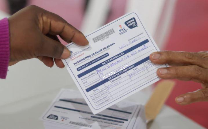 Policía Nacional aclara no tendrá retenes para pedir tarjeta de vacunación